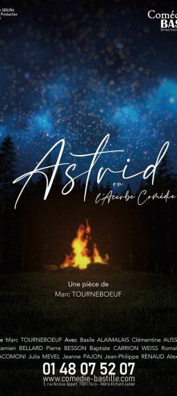 Affiche Astrid ou L'Acerbe Comédie