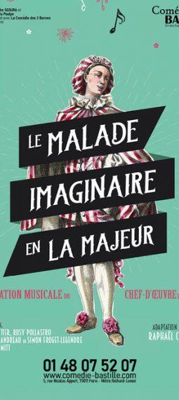 Affiche Le malade imaginaire en La majeur